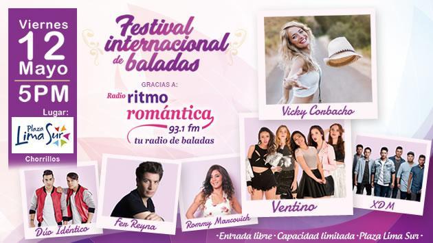 Disfruta del 'Festival Internacional de Baladas' completamente gratis
