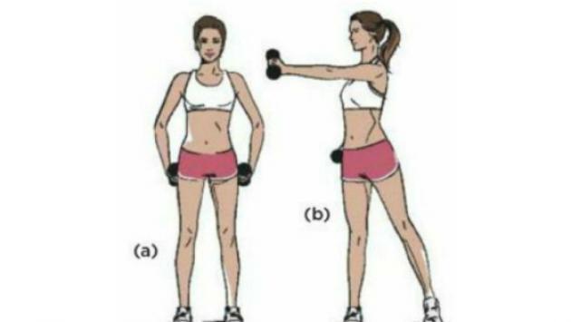 Ejercicios simples para eliminar los brazos flácidos