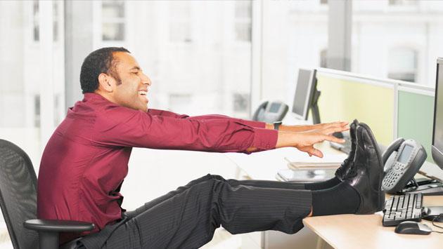 5 ejercicios que podrás hacer en la oficina