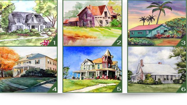 ¡Elige la casa que más te agrade y descubre rasgos de tu personalidad!