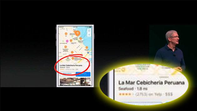 En el evento del iPhone 7, Perú y su gastronomía estuvieron presentes [VIDEO]