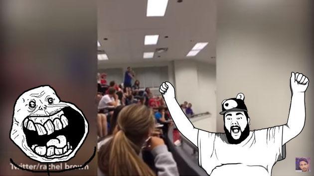 YouTube lo aclama porque evitó que su salón dé examen. Mira cómo lo hizo [VIDEO]