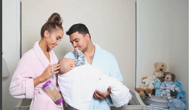 ¡Esta mujer hizo ejercicios fuertes y constantes durante embarazo y esto pasó con su bebé!