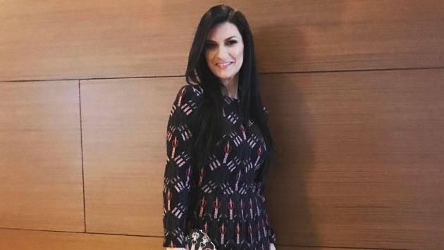 Estas fotos revelarían que Laura Pausini está embarazada