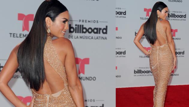 Mira los más impactantes vestidos de la alfombra roja de Premios Billboard 2017