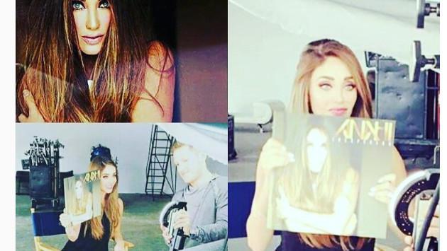 Ex 'RBD' Anahí presentó portada de disco 'Inesperado'
