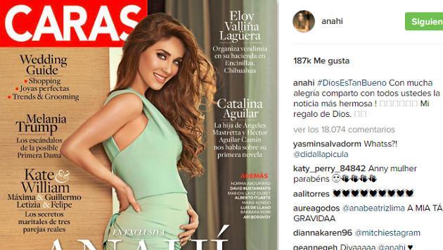 ExRBD Anahí confirmó embarazo