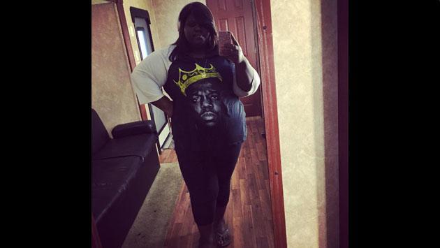 La actriz de 'Precious' bajó de peso y lo demuestra  con selfie