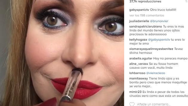 Gabriela Spanic luce irreconocible en Instagram