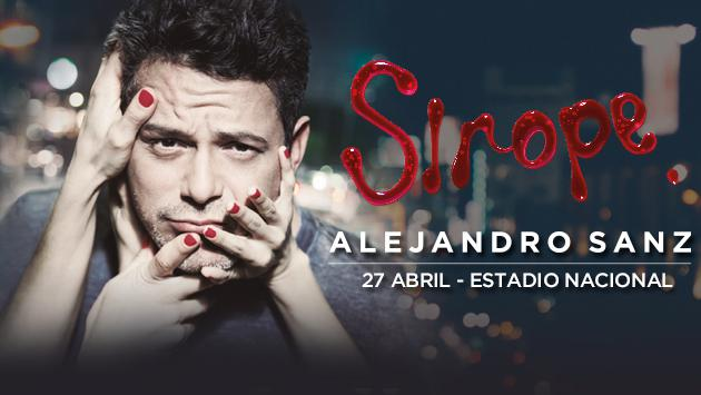 ¡Salieron los ganadores para el concierto de Alejandro Sanz en Lima!