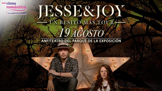 ¡Ellos asistirán al concierto de 'Jesse & Joy' en Lima, gracias a Ritmo Romántica! (GANADORES ENTRADAS)