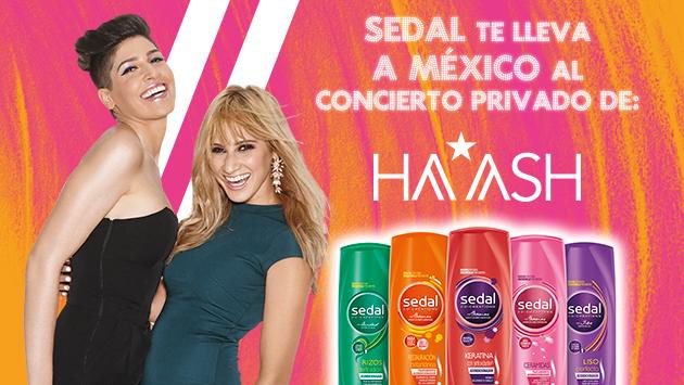 Gana un Photoshoot con Ha*Ash en México gracias a Sedal y Ritmo Romántica