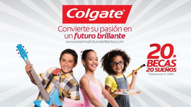¡Gana una de las 20 becas que Colgate tiene para tu hijo!