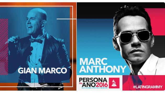 GianMarco participará del homenaje a Marc Anthony en los Latin Grammy