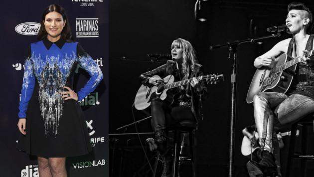 Hanna de Ha*Ash  compartió foto con Laura Pausini
