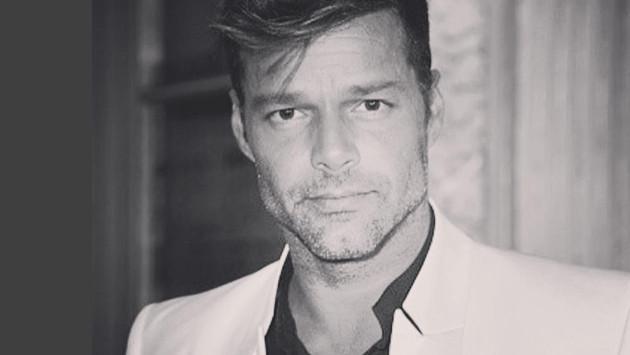 Ricky Martin presentó a su papá por primera vez
