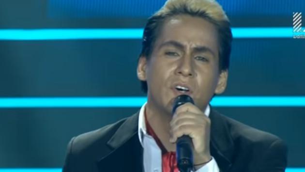 Imitador de Cristian Castro hizo delirar al público de 'Yo soy'