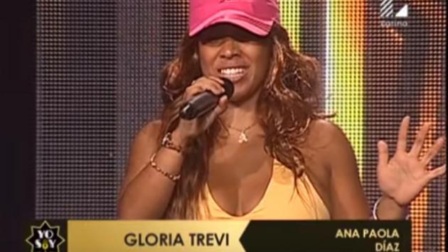 Imitadora de Gloria Trevi convenció y sorprendió con singular motivación para su presentación