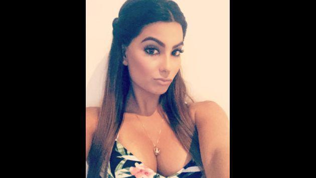 Ivana Yturbe sorprende con exceso de maquillaje