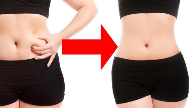 Jugo  para eliminar grasa de la cintura