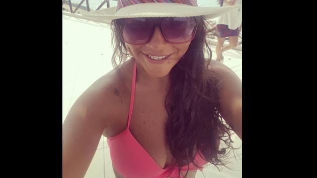 Katia Palma sorprende con varios kilos menos
