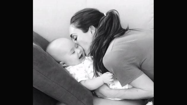 La canción de cuna de Anahí de RBD para su bebé [VIDEO]