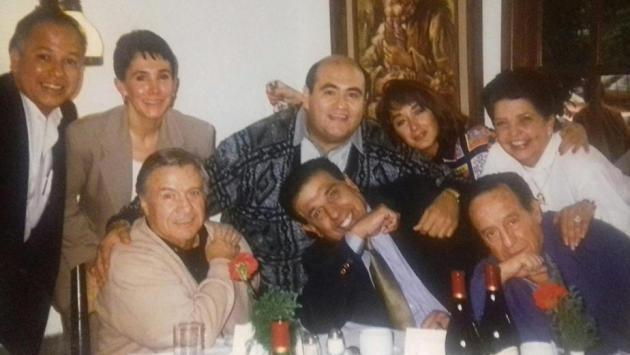 'La Chilindrina' compartió fotos inéditas del elenco de 'El Chavo del 8'