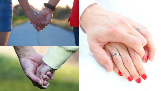 La forma cómo te toma de las manos revela qué siente por ti