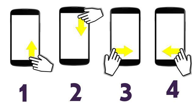 La forma de deslizar el dedo sobre tu teléfono revela tu personalidad