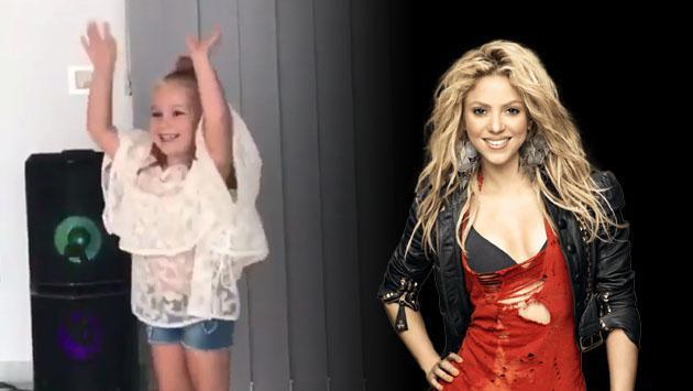 Esta mini-Shakira causa furor y tiene el aval de la cantante colombiana [VIDEO]
