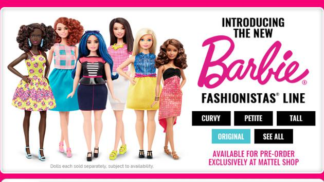 La  muñeca Barbie tiene cuerpo nuevo después de 57 años