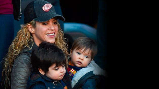 La primera foto del hijo de Shakira tras ser dado de alta en la clínica