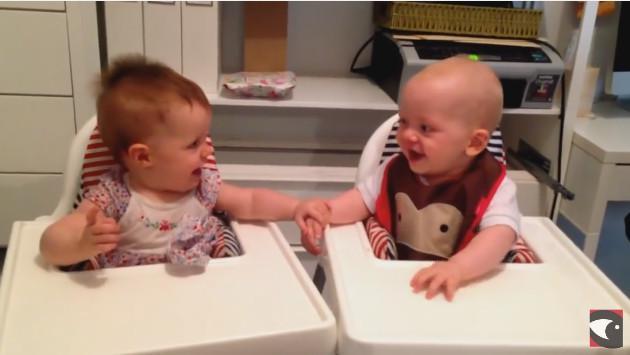 Las risas de estos bebés son contagiantes. ¡Tienes que escucharlas! (VIDEO)