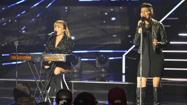 Las imitadoras de Ha*Ash en 'Yo soy' deslumbraron cantando 'Perdón, perdón' [VIDEO]