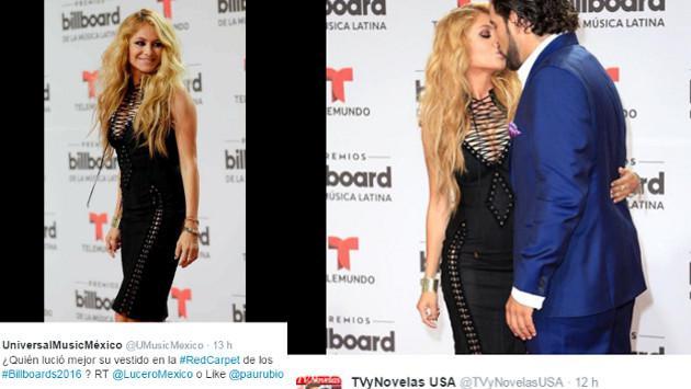 Los mejores vestidos de la alfombra roja de los Premios  Billboard Latin Music Awards 2016