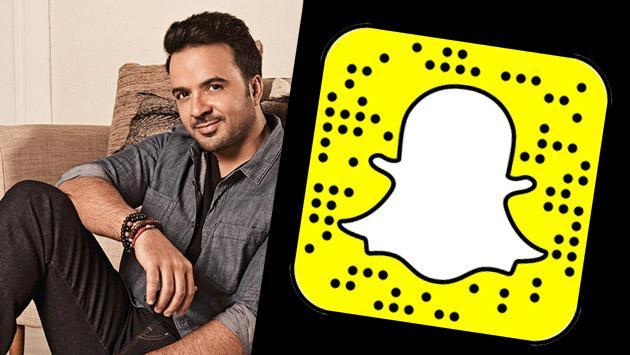Luis Fonsi llegó a Snapchat pero…