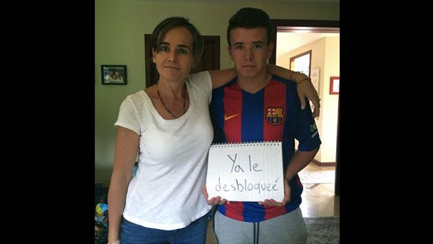Mamá realizó esta campaña de Facebook y su hijo le respondió así [FOTOS]