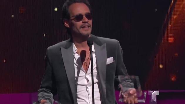 Marc Anthony  ganó en la categoría 'Gira del Año' en los Premios Billboard 2017