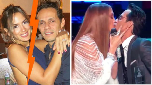 ¿Marc Anthony se separa de Shannon de Lima tras besar a Jennifer López en los Latin Grammy?