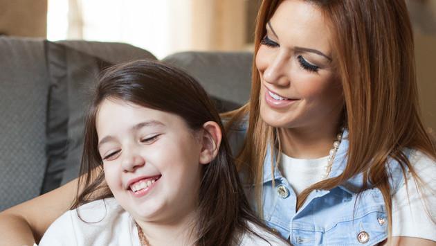 María Pía en su rol de madre: Cuidado con las malas palabras