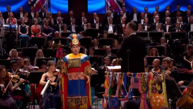 ¡Mira aquí el traje típico inca que lució Juan Diego Flórez durante concierto en Londres! (VIDEO)