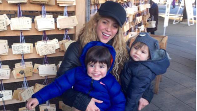 Mira cómo han crecido los hijos de Shakira