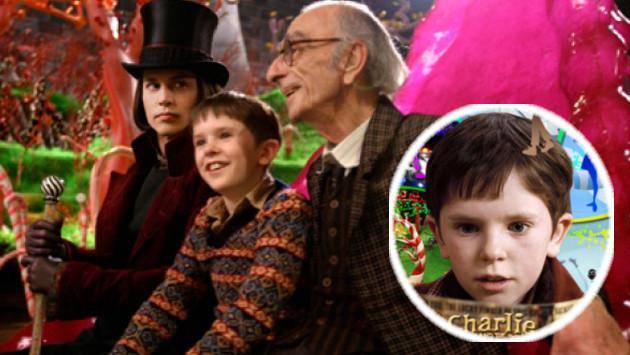 Mira cómo luce el protagonista de 'Charlie y la fábrica de chocolate' después de 11 años