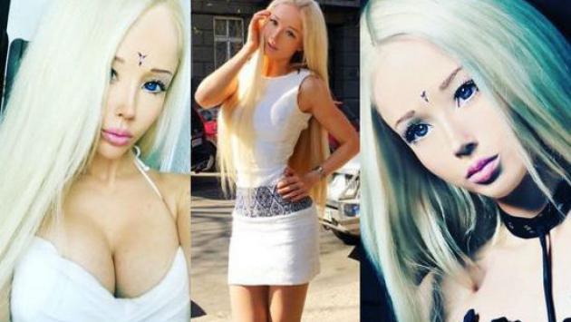 Mira cómo luce la Barbie humana sin maquillaje