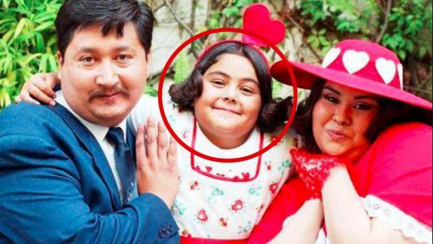 Mira cómo luce 'Polita' la romántica niña de 'Que vivan los niños'