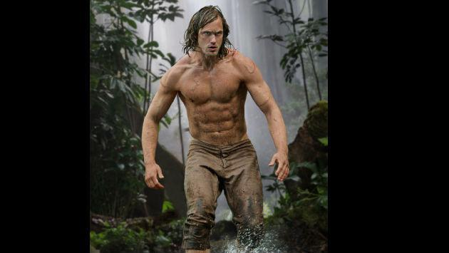 ¡Mira cómo lucía Alexander Skarsgård, el actor que encarna a Tarzán, antes de la película!