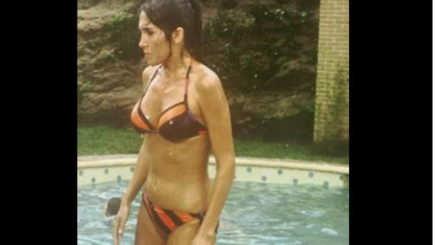 Mira cómo lucía Doña Florinda en bikini hace más de 40 años