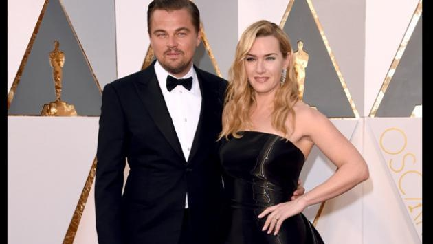 Mira la reacción de Kate Winslet al ver que Leonardo DiCaprio recibe el Oscar