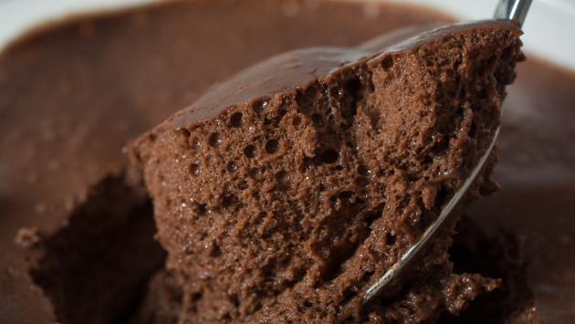 Delicioso y fácil mousse de chocolate