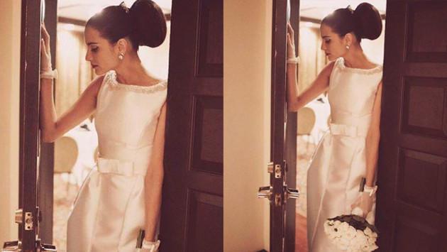 Natalia Jiménez se casó y compartió fotos en redes sociales